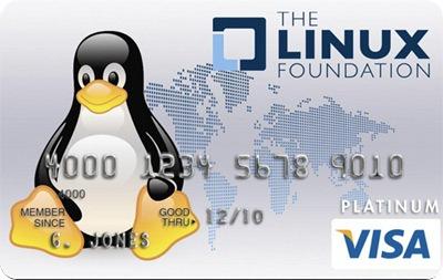 Fundação Linux lança cartão de crédito