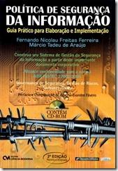 """Livro: """"Política de Segurança da Informação"""""""