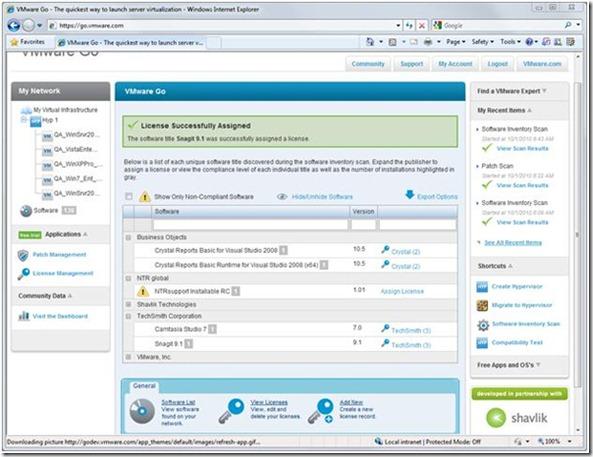 VMware Go Pro - Solução voltada para pequenas empresas