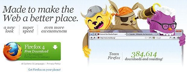 Mozilla lança versão final do Firefox 4