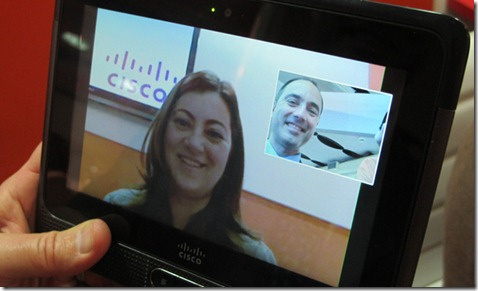 Cisco trará tablet corporativo ao Brasil