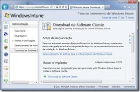 Windows Intune - Gerenciamento de infraestrutura na nuvem