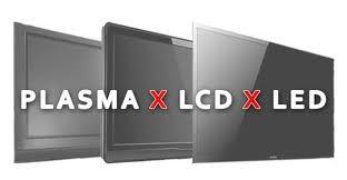 plasma lcd led